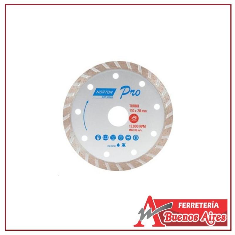 Disco Diamantado Turbo De 9 Norton