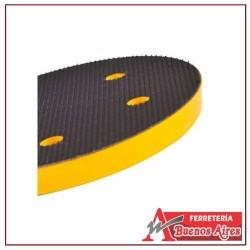 Soporte Disco Caucho  4 Velcro Adhesivo