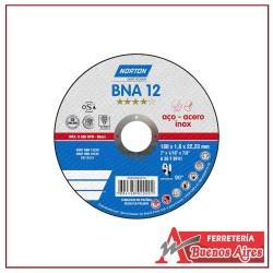 Disco Corte Metal 4.12 x 1/16 x 7/8 Norton Bna12