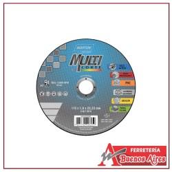 Disco Corte Metal 4.1/2 X 1.6 X 7/8 Norton Multicorte