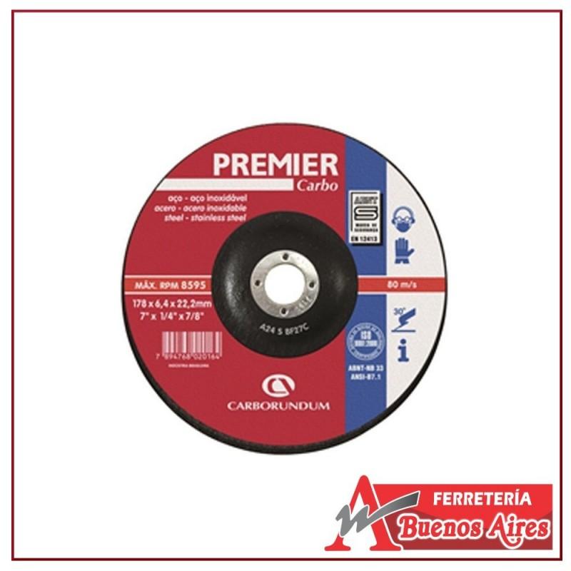 Disco Pulir Metal Premier 7 x 1/4 x 7/8