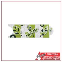 Cenefa Corona Listello Macarena Verde 8 x 25