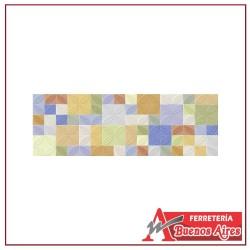 Base Decorada Tartago Multicolor 20.5 x 60
