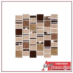 Mosaico Terra Beige 29.8 x 30.8