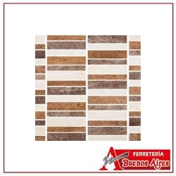 Mosaico Piedra Francesa Multicolor 29.2 x 32.6