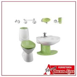 Combo Happy II Verde Con SemiPedestal